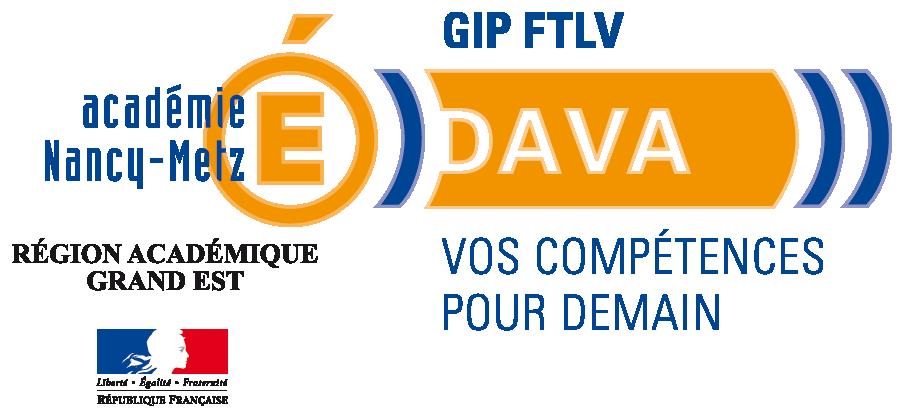 Logo du DAVA Nancy-Metz.